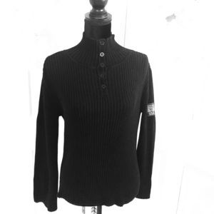 DKNY // JEANS  Pullover Button Neckline